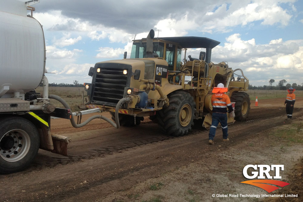 Soil Stabilization and Dust Control – GRT pushing the boundaries of technology