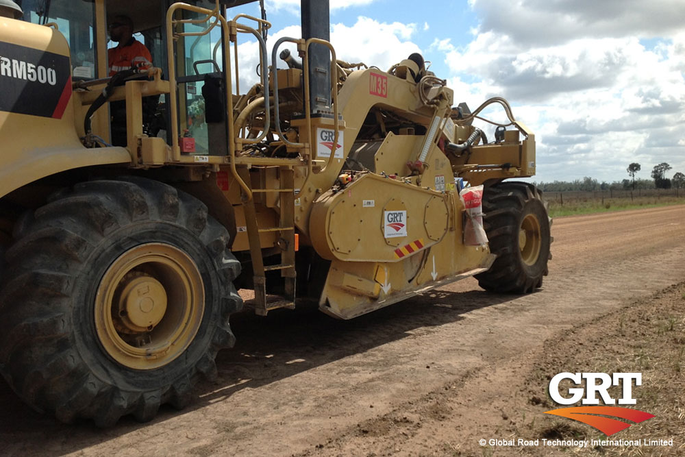 Soil Stabilization and Dust Control with Global Road Technology